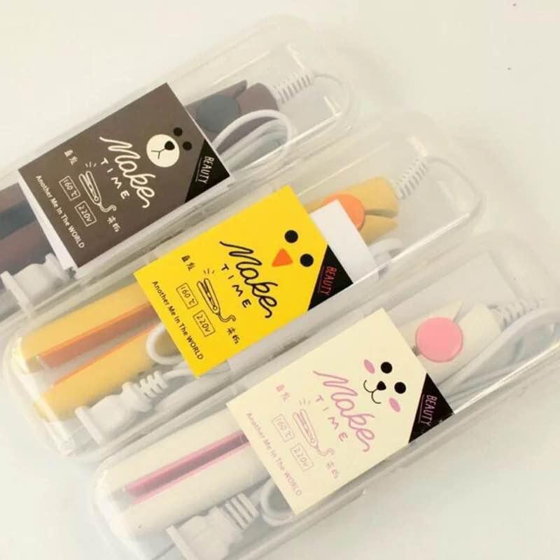 Wholesale Travel Use Mini Flat Iron Professional rechargeable portable frame electric korean mini hair straightener