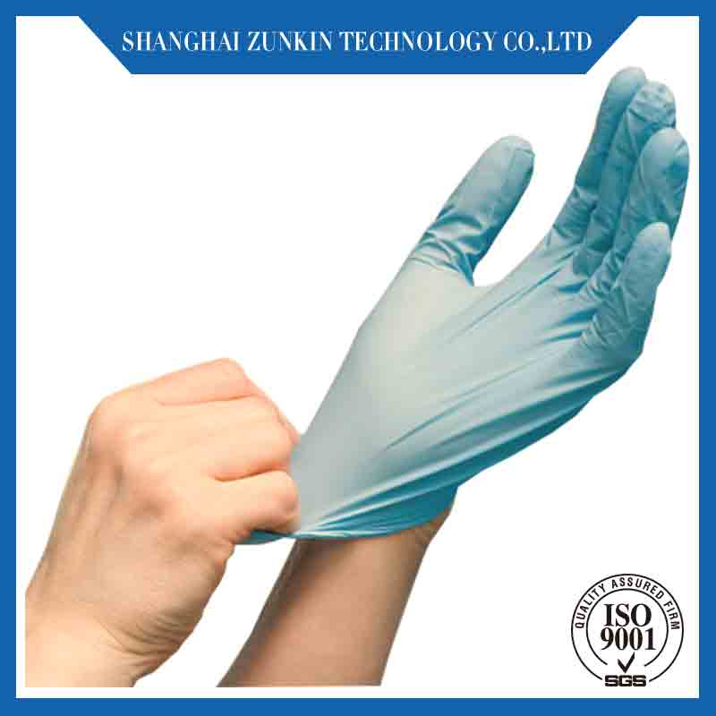 PU Fingertip Coated nitrile Electronics Industry Cleanroom PVC Dotted esd gloves