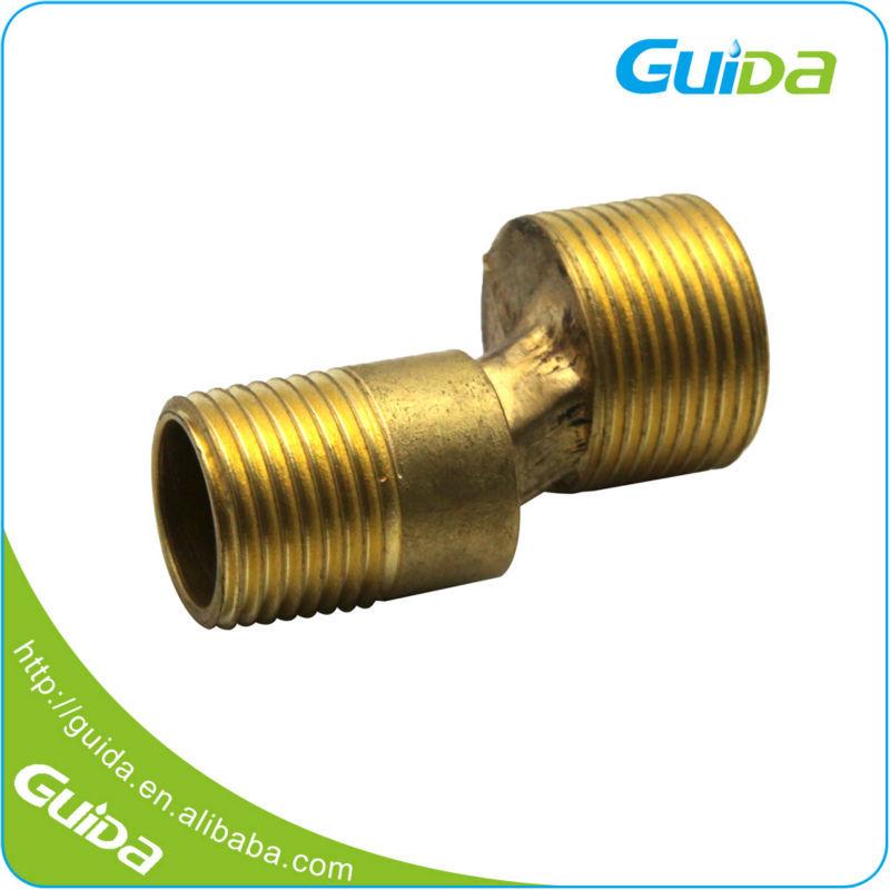 Rectangular metric nickel plated brass tube bending size