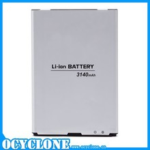 High capacity mobile phone 3140 mah 3.8v gel battery