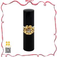 Wholesale luxury women black gold jewelry customized cosmetic packaging perfume