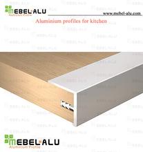 furniture hardware aluminium furniture accessories metal edge banding