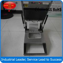 350 Tray/h Manual Tray Sealing Machine Packaging Machinery Manual Fast Food Sealer