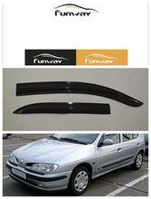 CAR DOOR VISOR RAIN DEFLECTOR FOR RENAULT MEGANE-1/ MEGANE-2/MEGANE-3 USE