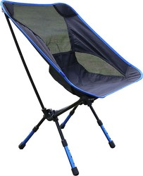 4 Colors Portable Folding Camping Stool Chair Seat for Fishing Festival Picnic BBQ Beach with Bag Red/Blue/Orange/sky blue