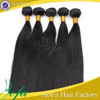 Hot sale virgin indian fake hair ponytails