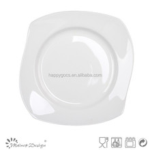 Ingrosso piatti di porcellana, ceramica albergo usato insalata/dessert/zuppa/piatti piani, ristorante piatti piatto