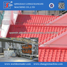 Máquinas para Fabricar Paneles Corrugados de PVC
