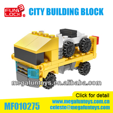 FUNLOCK Brand 83pcs Mini Truck Series Build Your City Toys