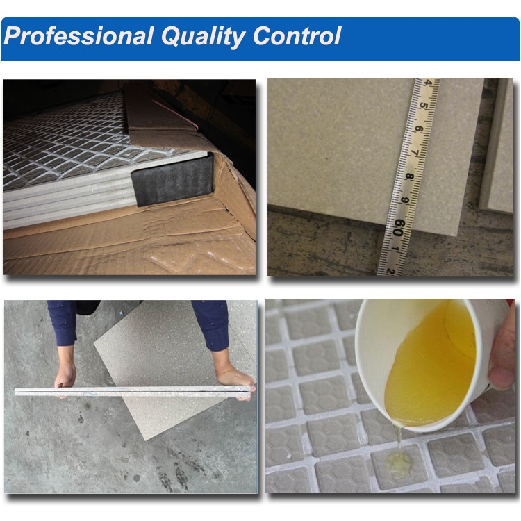 Non slip coating for ceramic tiles