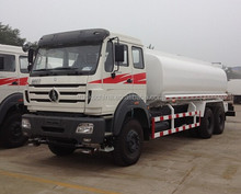 Beiben NG80 6x4 Water Tank Truck Ethiopia Use Tank Truck