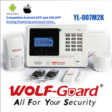 Motion detect GSM alarm system for home security protection and burglar alarm.