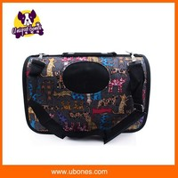 Lovoyager pet products foldable puppy dog carrier with nylon and EVA shell