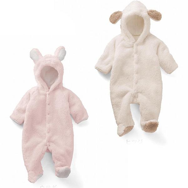Nouveau adorable moelleux animaux bébé infantile KiGu Onesie KK351