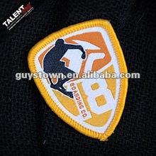 custom sports wear school uniform label badge patch