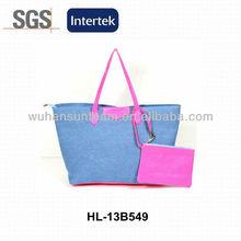 Canvas Tote Handbags Young Girls Bags Bright Colour Handbags