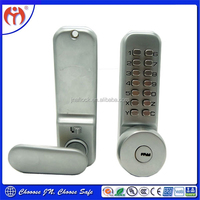Good Quality with Best Price Keyless Mechanical Satin Chrome Combination Code Door Lock CL27A
