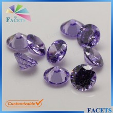 Facets Gems Rough Brazilian Gemstone Round Brilliant Cut Lavender Stone Buyers