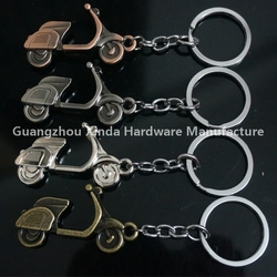 New Souvenir Metal motorcycle accessory key chain gift .Motorcycle shape keyring