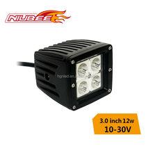 hot sale 12v 12w car work light led
