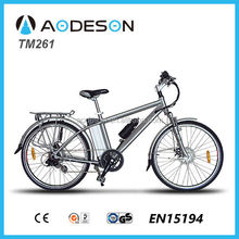 cheap and reliable electric mountain bike/bicycle, sport ebike TM261 with 36V lithium battery powered bicicleta electrica