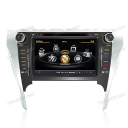 8 inch gps navigation car radio stereo dvd video player double din for Toyota Camry 2012