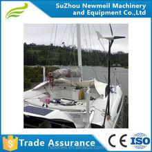 low noise 300 400W 12V 24V home or marine use wind power turbine generator