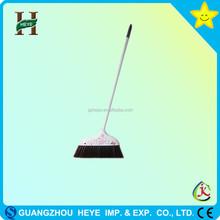 Household plastic PET hair broom handle PP handle material broom