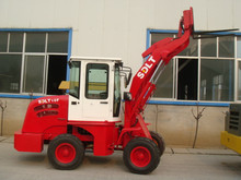 1 ton China 4wd farm tractor with front loader for sale