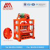 QTJ4-40 most popular manual concrete brick block making machine price for sale China