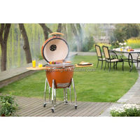 vision grill with name plate kamado grill