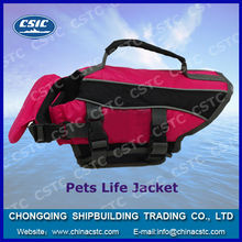 Life saving jacket for pets, dogs' vest in water, Dog Life Jacket