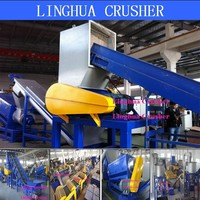 high effective plastic crusher for recycling line