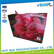 Good quality new design best sale funny rose shopping bag
