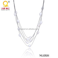 fashion costume jewellery freshwater pearl necklace jewellery 2015