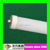 Energy saving UL DLC 36W 2400mm 8ft 8 ft single pin t8 led tube with aluminum body