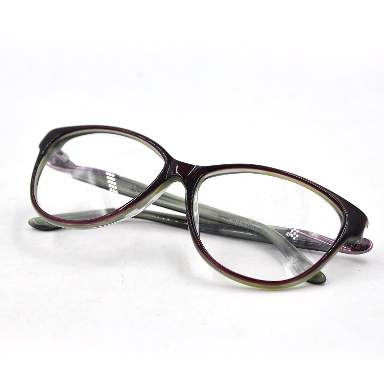 Popular Italy Design Acetate Eyeglass Frame - Buy Eyeglass ...