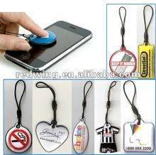Custom PVC Cell Phone Screen Cleaner