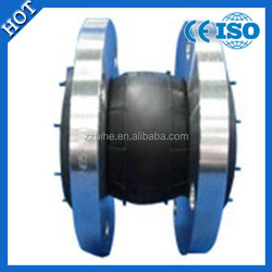 Hot selling types of pipe rubber expansion joints with stainless steel flanges