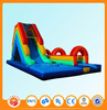 Giant plastic industrial inflatable water slide for adult