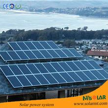 Complete off grid home solar system kit includes solar panels, inverter, batteries installation kit.