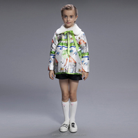 wholesale fashion children spring child clothes kids clothing girls Korean cheap brand jackets coats K1230B 2~6y