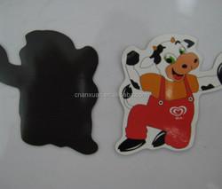 cow animal shape fridge magnet ,paper refrigerator magnets