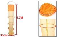 1.7 м 5 разборные секции клетка рыбалка живца держать чистый оранжевый