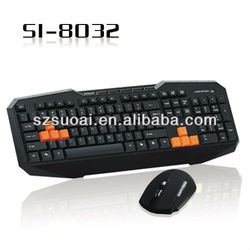 Tablet Wireless Gaming Keyboard Mouse Combo