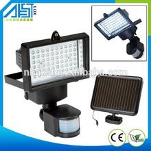 warranty 3 years ip65 outdoor 5 watt 12 volt led automatic sensor light solar led flood light