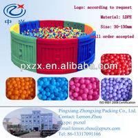 multi-coloured Plastic ball pit balls