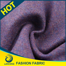 Factory outlet Custom dyed Spandex english wool fabric
