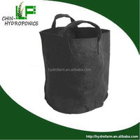 hydroponics 1,2,3,5,10,15,20,25 gallon fabric pot /rope plant hangers