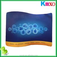4*3 S Shape Curved Tension Fabric Display Racks Back Portable Display Wall